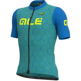 Alé Cycling Solid Cross SS Jersey Men, azul